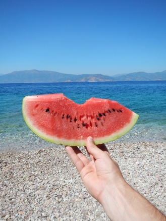 focus-aventure-grece-nauplie-plage-pasteque