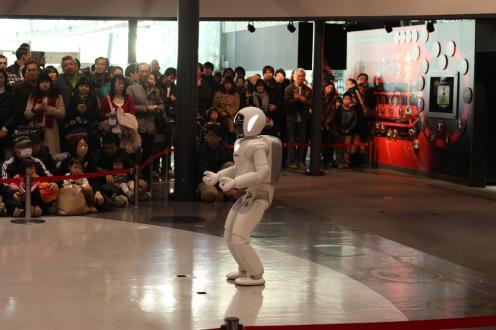 Le robot Asimo de Honda