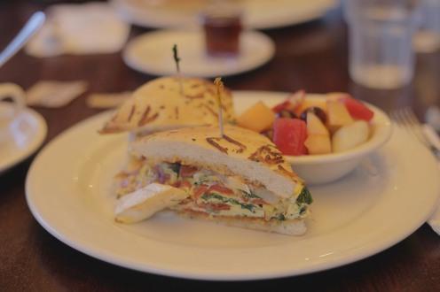 Délicieux breakfast au Central Park Restaurant à Pasadena