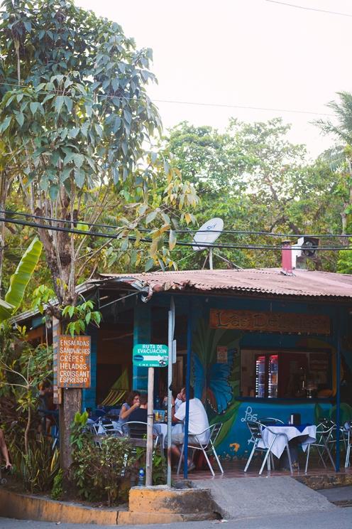Le tranquille village de Montezuma