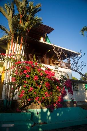 Le très beau bâtiment de l'hôtel Las Olas