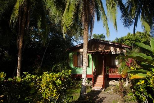 Maisonnettes sous cocotiers