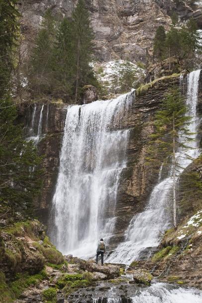 julia-laffaille-focus-aventure-chartreuse-cascade